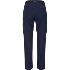 Regatta Xert III Stretch Pantalones Zip-Off Hombre, azul